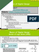 Verilog_00 [Design] Basics of Digital Design {v01!26!2013}