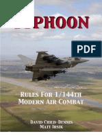 Typhoon - Modern Jet Combat