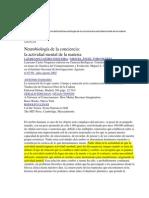 1-NEUROBIOLOGÍA DE LA CONCIENCIA
