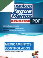 Medicamentos de Controle Especial