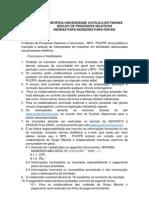 Edital Fiscais