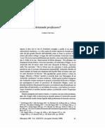 Natali, Carlo, Aristotele Profesore [Pregunta], Phronesis 36 (1991) 61