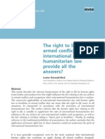 The right to life in armed conflict