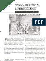 Antonio Narino y El Periodismo