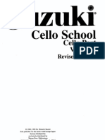 Suzuki Cello School 3