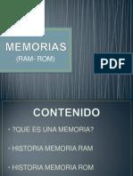 Memorias Pc...
