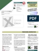 Folleto Informativo XTodos Elecciones a Rector URJC13