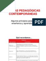 presentación TEORÍAS PEDAGÓGICAS CONTEMPORÁNEAS