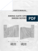 SW200 User Manual