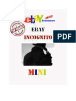 Incognito Mini eBook - eBay Suspension & Paypal Limitation Guide