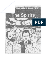 What the Bible Teaches About the Spirits