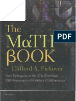 Math Book; From Pythagoras to the 57th Dimension by Clifford Pickover