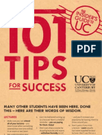 101 TIPS FOR SUCCSES