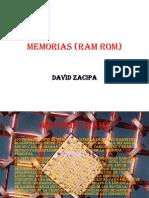 Memorias (RAM ROM)