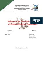 KARINA_Influencia Del Normativismo en El Sistema Judicial Venezolano