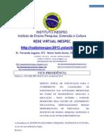 Edital 20 de 2013 Inespec Ray Rabelo