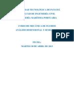 Tarea-Analisis Dimensional y Semejanza