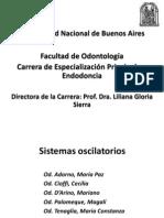 Endodoncia Sistemas  oscilatorios