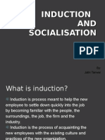Induction and Socialisation