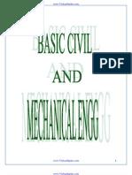 Basic Civil Engineering Class Notes