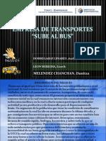 Proyecto31 Sube Bus
