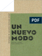 Un nuevo modo. Antologia de narrativa mexicana actual
