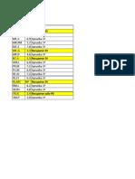Calificaciones P6 4ºAB