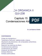Cap. VII Condensación Aldólica