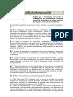 LEI_ESTADUAL_14984_2005 -Dispoe Sobre Altercoes Nos Postos e Licenca Respectiva