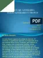 Preceptiva Literaria Tropos Lenguaje Lit