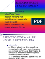 Espectroscopia UV Visivel