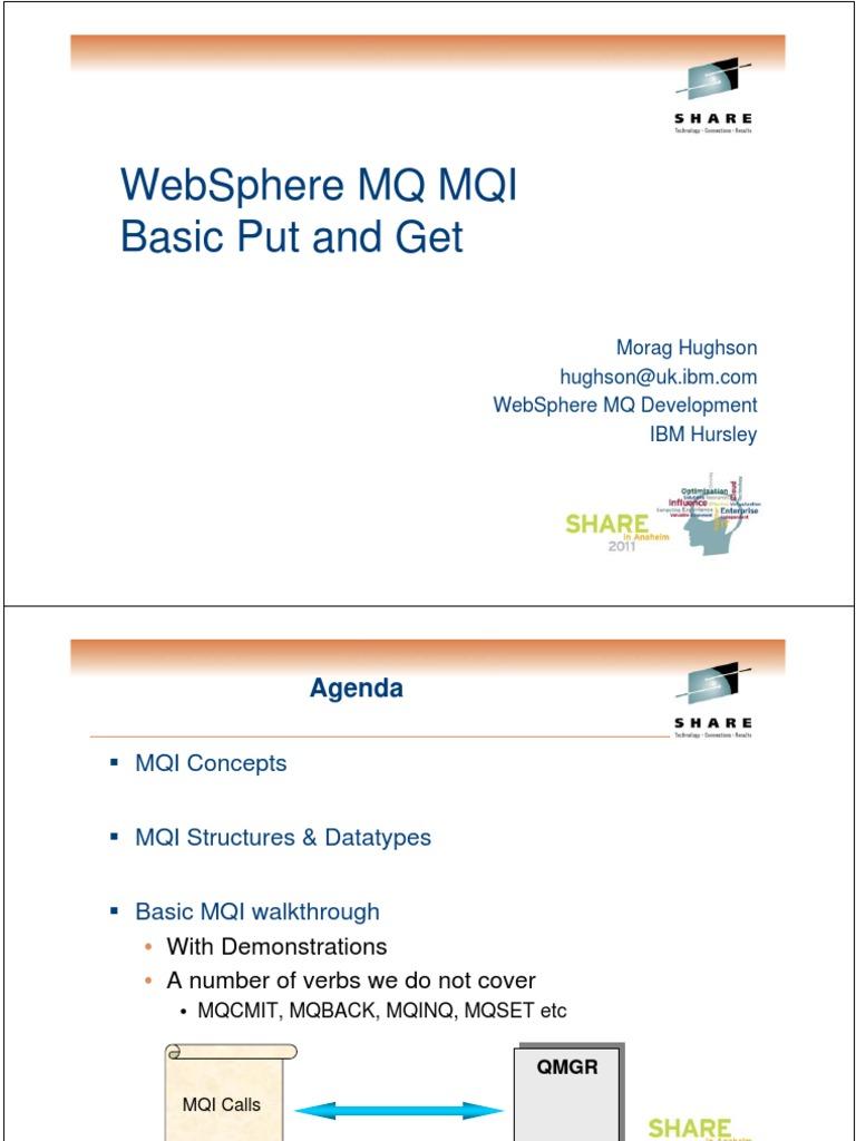 mqi pdf | Library (Computing) | Data Type