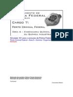 Simulado 161 - PCF Área 6 - PF - CESPE