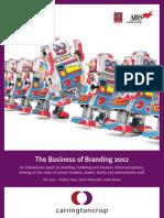 Bus of Brand Exec Summary 2012 (PDF)