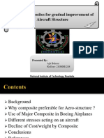 Role of Composites for Gradual Improvement of Aircraft Structure