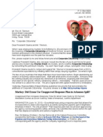 Drumbeat Rex & Barack 13-06-15 Markey Investigation