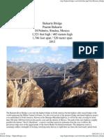 Baluarte Bridge - HighestBridges