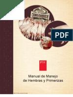 PIC Manual de Manejo de Hembras y Primerizas 2011