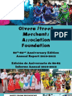 OSMAF Olvera Street Merchants Annual Report 2012