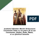 Acatistul Sfintilor Martiri Brancoveni
