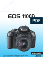 Manual CANON EOS 1100D T3 Portugues