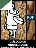 Diálogo de mujeres sobre Soberanía Alimentaria