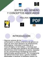 ANTECEDENTES DEL GÉNERO Y CONCEPTOS ASOCIADOS