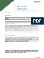 Attacks and Mitigation INECert.com