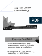 Library and Archives Canada Long-Term Content Digitization Strategy