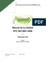 Manual de Calidad JAJ_3rev