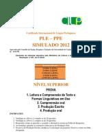 Prova 1 Compreensc3a3o Leitora e Formas Linguc3adsticas Nc3advel Superior