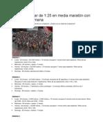Plan 21 Km 14 de Julio 2013