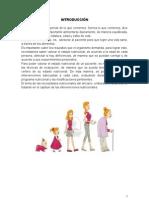NUTRICIÓN Y DIETÉTICA EN EL CICLO DE LA VIDA