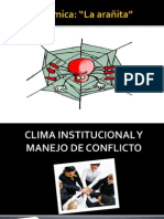 Clima Institucional y Manejo de ConflIctO ORIGINAL Karen